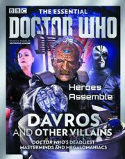 Doctor Who Essential Guide #06 Davros And Other Villains Bookazine Magazine Panini Comics